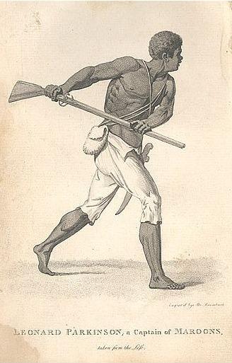 Leonard Parkinson, a Captain of the Maroons NS 1796