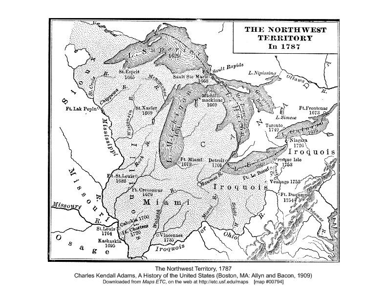 The Northwest Territory 1787