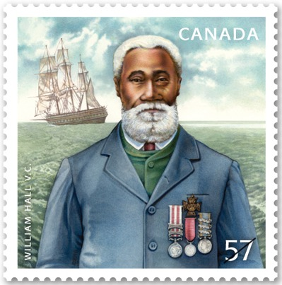Quartermaster William Hall First Canadian and First Black to receive the Victoria Cross 1859